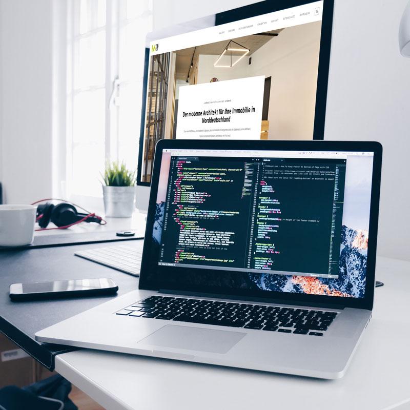 Programmierung einer Webseite
