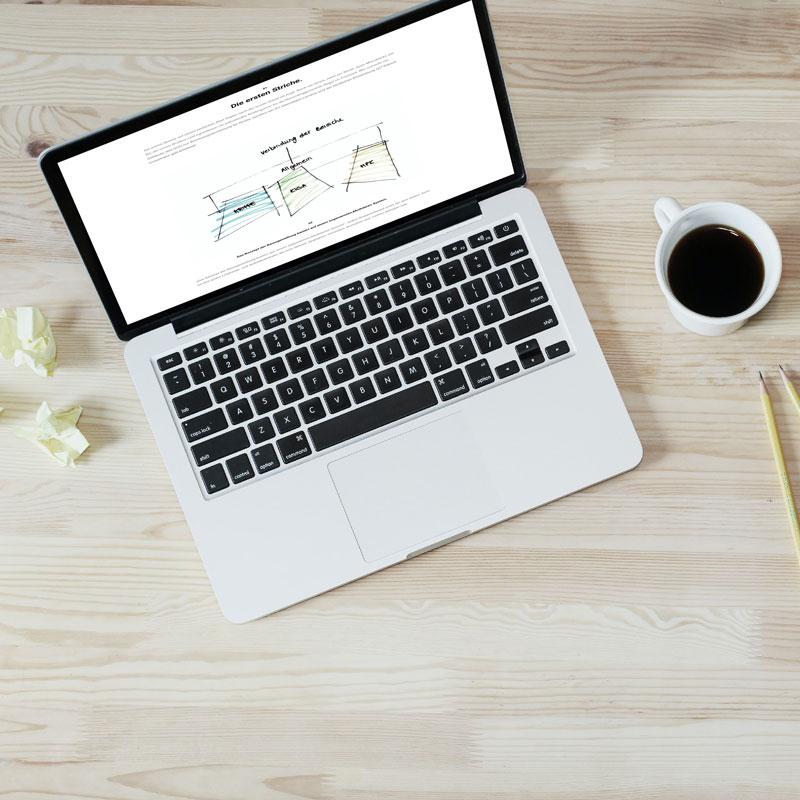 Konzeption Webseite