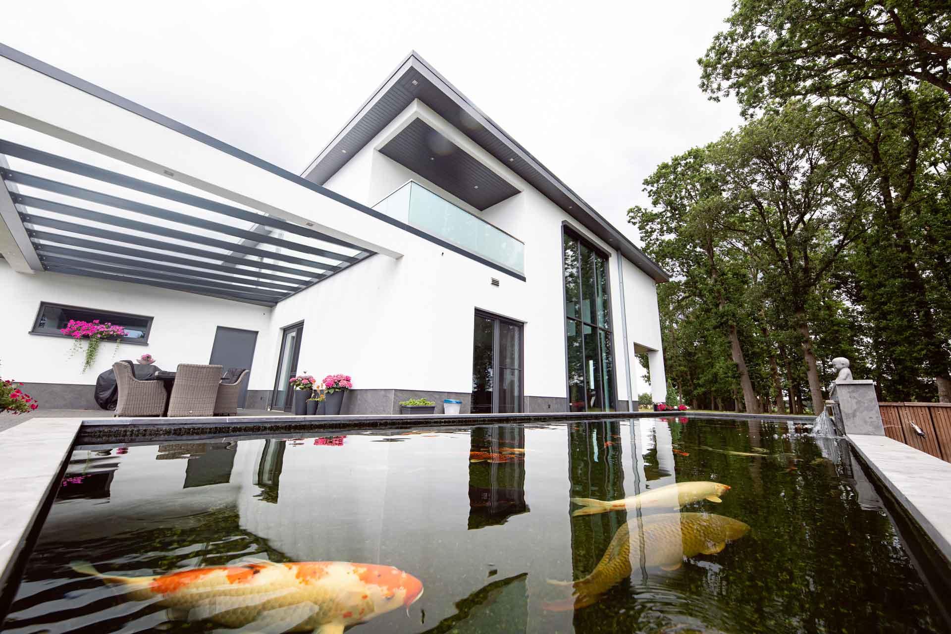 Immobilie auf Architektur Webseite