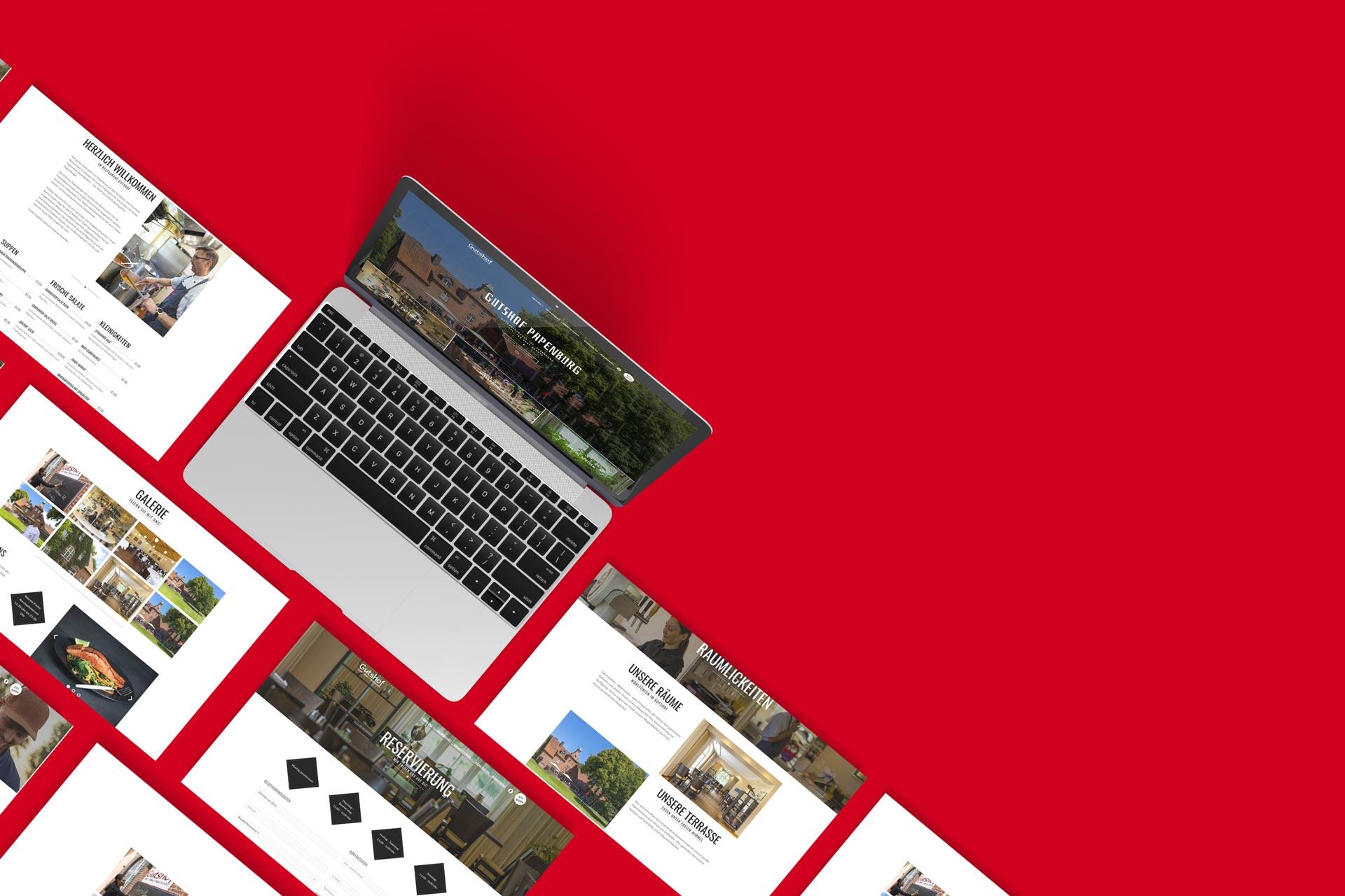 Webseite Gutshof Papenburg